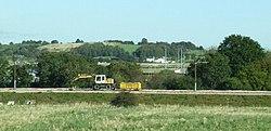 Tram works near Edinburgh Airport (geograph 3172005).jpg