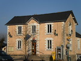 The town hall in Trans-sur-Erdre