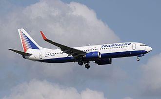 Transaero - Transaero Boeing 737-800