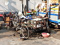 Tricycle and Bicycles in Lane 400, Fuyuan Street 20140103.JPG
