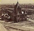 Trinity Church Boston during construction ca1875.jpg