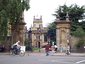 Trinity College, Oxford - Entrance from Broad Street