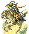 Trompette des hussards de la Garde royale napolitaine, 1812.jpg