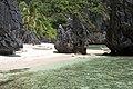 Tropical lagoon with limestone rocks, Bacuit Bay, Palawan, Philippines.jpg