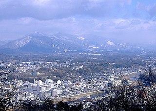 Tsuyama City in Chūgoku, Japan