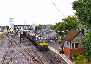 Tullamore railway station - Image: Tullamore Station
