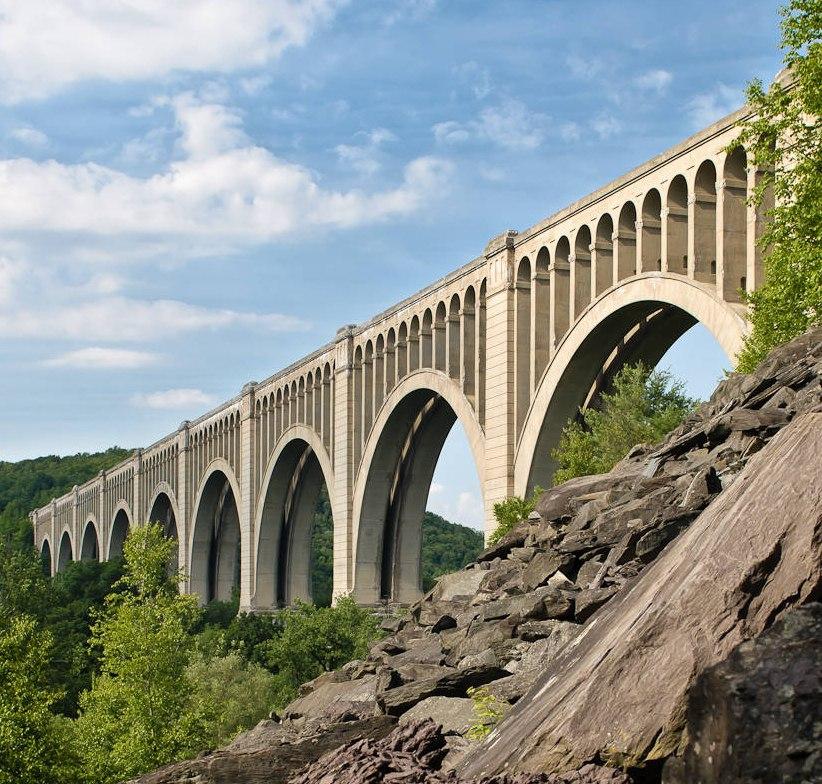 Tunkhannock Viaduct, NE Pennsylvania USA