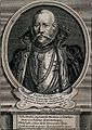 Tycho Brahe. Line engraving after T. Gemperlin, 1586. Wellcome V0000744.jpg