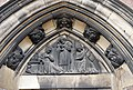 Tympanum reliefs over entrance to St Agatha, Sparkbrook.jpg