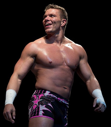 Kidd at a WWE event in 2012 Tyson-Kidd-Jan-2012.jpg