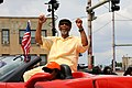 U.S. Congressman Bobby Rush at the Bud Billiken Parade 2015 (20402358096).jpg