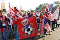 U.S. Fan Club, Sam's Army, Walks to U.S. vs. Algeria World Cup Match.jpg