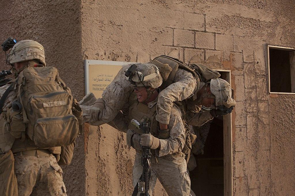 File:U.S. Marine Corps Lance Cpl. Michael Milano, center, an ...