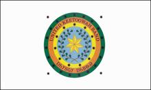 Bandiera della 'United Keetoowah Band of Cherokee Indians'