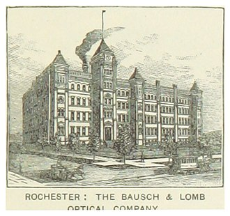 Bausch & Lomb - Image: US NY(1891) p 639 ROCHESTER, THE BAUSCH & LOMB OPTICAL COMPANY