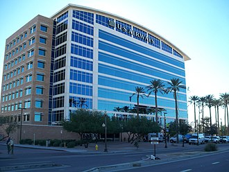 Tempe, Arizona - The former US Airways headquarters in Tempe