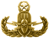 U.S. Naval EOD Warfare Officer Badge