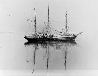 dual steam-powered and sailing ship