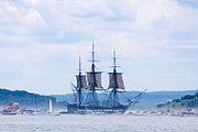 USS Constitution Sails in Boston Harbor 2012