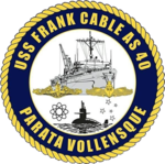 USS Frank Cable AS-40 Crest.png