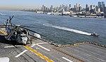 USS Iwo Jima departs N.Y. (30699102950).jpg