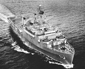 USS Ogden (LPD-5) - Ogden in 1965.