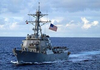 USS Oscar Austin - Image: USS Oscar Austin (DDG 79)