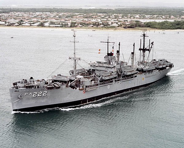 USS Pickaway (APA-222) - WikiMili, The Free Encyclopedia