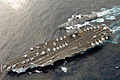 USS Ronald Reagan (CVN 76) connects to JS Myoko (DDG 175) of the Japan Maritime Self Defense Force during a refueling at sea evolution March 17, 2007 070317-N-HX866-018.jpg