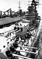USS Sacramento (AOE-1) replenishes USS Boston (CAG-1) off Vietnam c1967.jpg