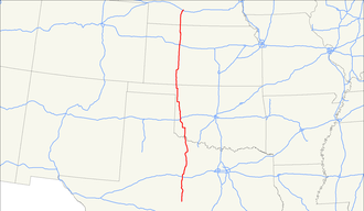U.S. Route 283 - Image: US 283 map