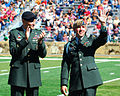 US Army 51429 Eslinger, West Point Class of 2007, receives 2009 Nininger Award.jpg