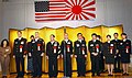 US Navy 021025-N-2613R-005 U.S. Navy awardees with their Japanese Self Defense Force counterparts are congratulated on being awarded the Japan American Navy Friendship Association Award (JANAFA).jpg