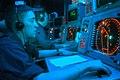 US Navy 040723-N-5232L-001 Operations Specialist Seaman Jeffrey R. Rinker of Harpers Ferry, W.Va., stands watch in the Combat Direction Center (CDC) aboard USS Kitty Hawk (CV 63).jpg