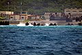 US Navy 050709-N-4772B-044 An Armored Amphibious Vehicle (AAV) assigned to the 31st Marine Expeditionary Unit (MEU) exits the beach en-route to the well deck of the amphibious dock landing ship USS Harpers Ferry (LSD 49).jpg