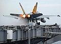 US Navy 071027-N-7981E-213 An F-A-18C Hornet, assigned to.jpg