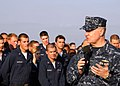 US Navy 081219-N-3392P-172 Chief of Naval Operations (CNO) Adm. Gary Roughead talks to Sailors and Marines.jpg