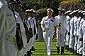 US Navy 090407-N-8273J-156 Chief of Naval Operations (CNO) Adm. Gary Roughead inspects the troops during a Guard of Honor ceremony while visiting Simon's Town Naval Base.jpg