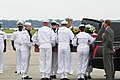 US Navy 090813-N-1644C-001 Members of a Navy honor guard carry the remains of Capt. Michael Scott Speicher into a waiting hearse at Naval Air Station Jacksonville in Jacksonville, Fla.jpg