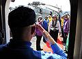 US Navy 100521-N-3885H-015 Capt. Chip Miller, commanding officer of the aircraft carrier USS George H.W. Bush (CVN 77).jpg