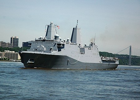 450px-US_Navy_110525-N-JP566-221_The_amphibious_transport_dock_ship_USS_New_York_%28LPD_21%29_participates_in_the_Parade_of_Ships_during_Fleet_Week_2011_para.jpg