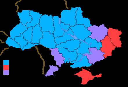 东乌克兰认为自家是俄罗斯人个一