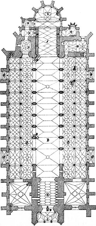 Ulm Minster - Plan of Ulm Minster