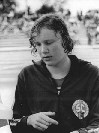 Ulrike Tauber - Ulrike Tauber in 1974