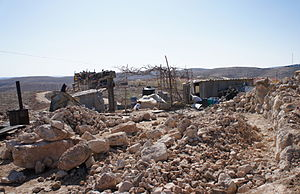 Ezra Nawi - Umm al-Kheir, South Hebron Hills.