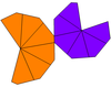 Unequal twisted hexagonal trapezohedron net.png