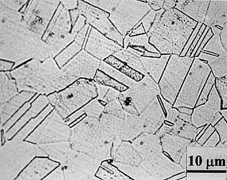 Intergranular corrosion - Unsensitized microstructure