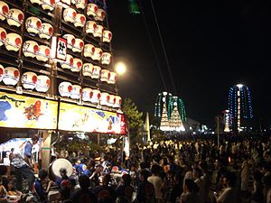 Uozu, Toyama - Tatemon Festival, one of the famous festivals in Toyama Prefecture