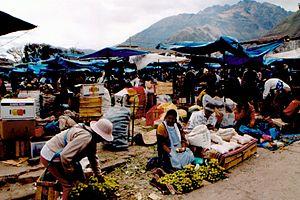 Urubamba, Peru - Market in Urubamba