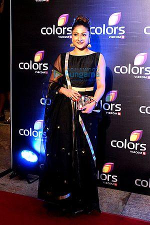 Urvashi Dholakia - Urvashi at Colors annual bash in 2016